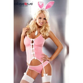 Ensemble complet guepiere Bunny Obsessive - XXL
