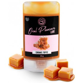 Lubrifiant Comestible Oral Pleasure Saveur Caramel - 34 gr