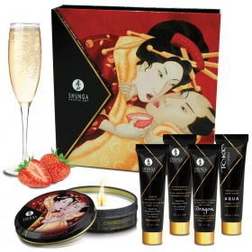 Kit Secret de Geisha Vin Pétillant - Fraise
